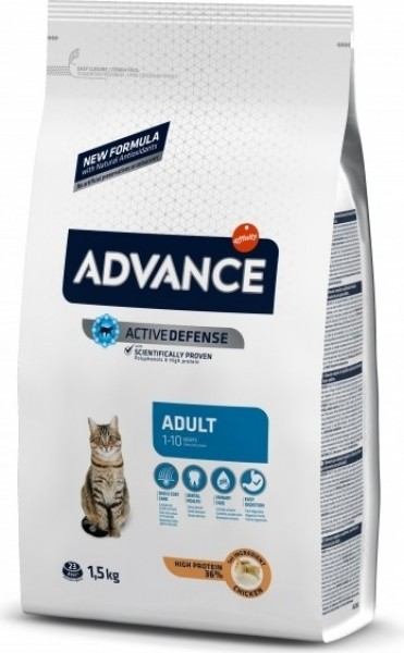 Advance Adult Poulet & riz pour Chat Adulte