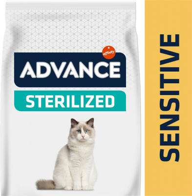 Advance Sterilized Sensitive au Saumon pour Chat Adulte Stérilisé Sensible