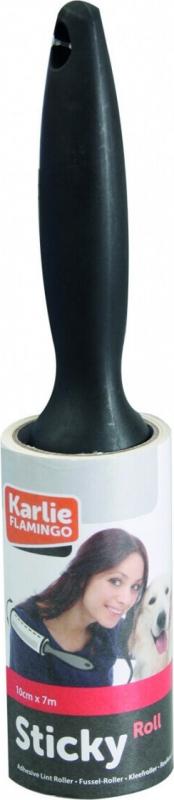 Rouleau adhésif anti-poils