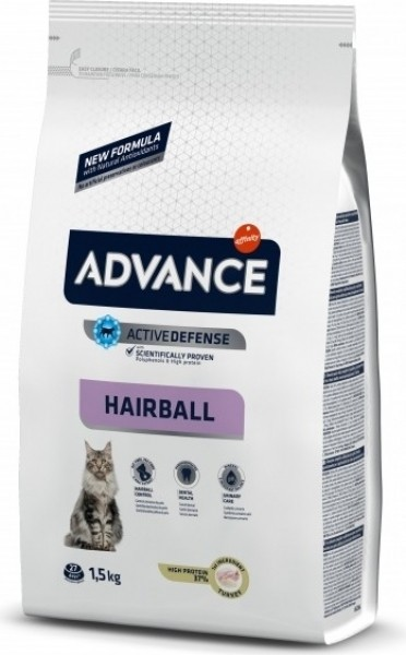 Advance Hairball with Turkey and Rice