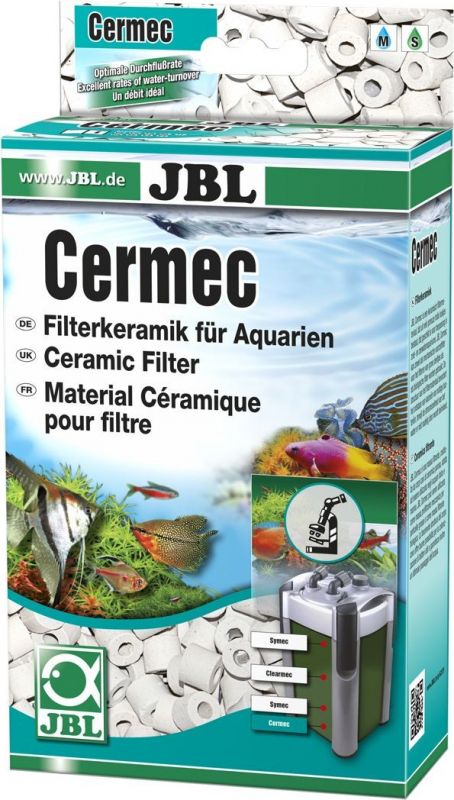 JBL Cermec Matériau de céramique éprouvé pour filtration