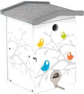 FUNNY Winter Bird House