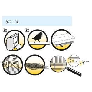 Cage pliable pour oiseau - DOLAK_1