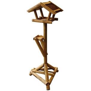maison d 39 hiver sur pied pour oiseau hamar mangeoire et. Black Bedroom Furniture Sets. Home Design Ideas