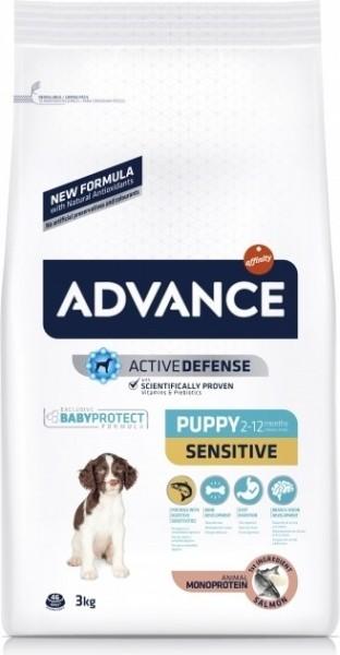 Advance Puppy Sensitive au saumon pour Chiot Sensible