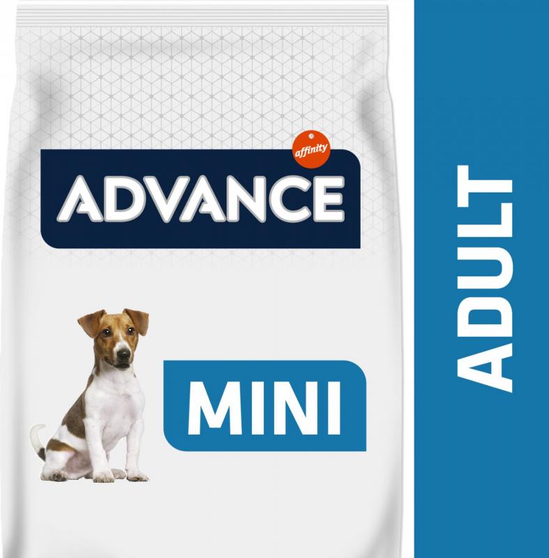 Advance Mini Adult au Poulet pour chien Adulte de Petite Taille