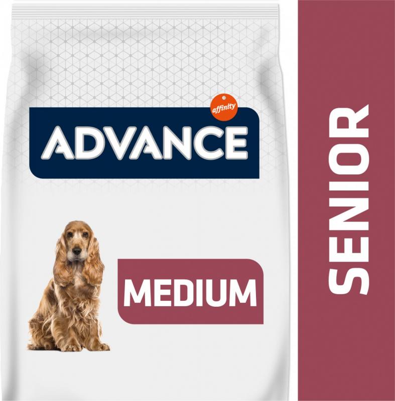 Advance Medium 7+ au Poulet pour Chien Senior de Taille Moyenne
