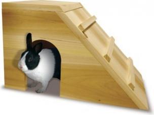 cabane en bois pour lapin nain mocambo maison pour rongeur With maison rondin bois prix 9 maison pour lapin nain animaloo