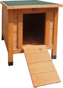Cabane en bois pour lapin cosy cage lapin for Cabane pour lapin exterieur