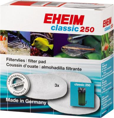 Coussins de ouate filtrante x3 pour filtre d'aquarium Eheim Classic 2213