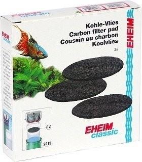 Coussins de mousse filtrante au charbon actif x3 pour filtre Eheim Classic 2213
