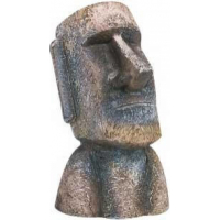 Moai Head Aquarium Decoration
