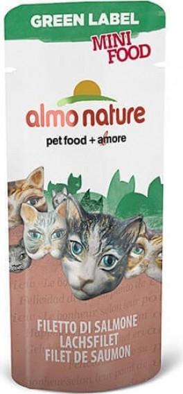 Snack individuales Almo Nature Green Label Mini Food 3 gr. para gato
