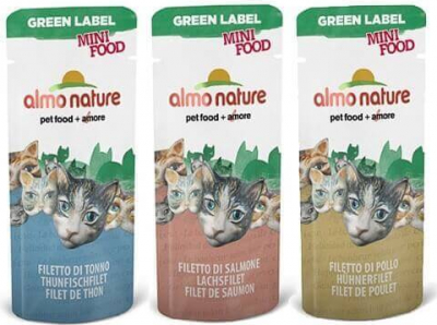 Snack Almo Nature Green Label Mini Food für Katzen
