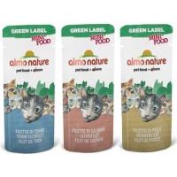 Snack Individuali Almo Nature Green Label Mini Food 3 gr per gatti