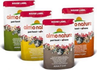 Paté Almo Nature Rouge Label Filetes para gato - Diferentes sabores