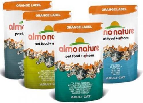 Paté Almo Nature Orange Label para gato - Diferentes sabores