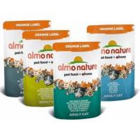 Paté Almo Nature Orange Label para gato - Diferentes sabores  (1)