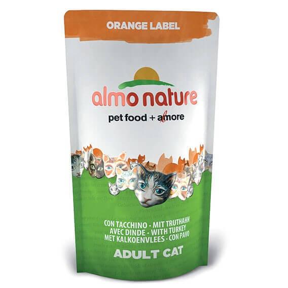 Croquettes Almo Nature Orange Label - Croquettes pour chat - Différentes saveurs_1