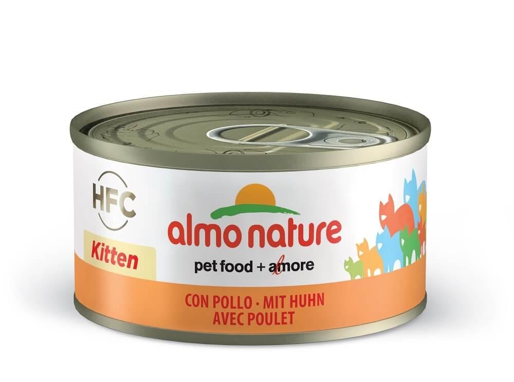 Pâtée Almo HFC kitten pour chatons _0