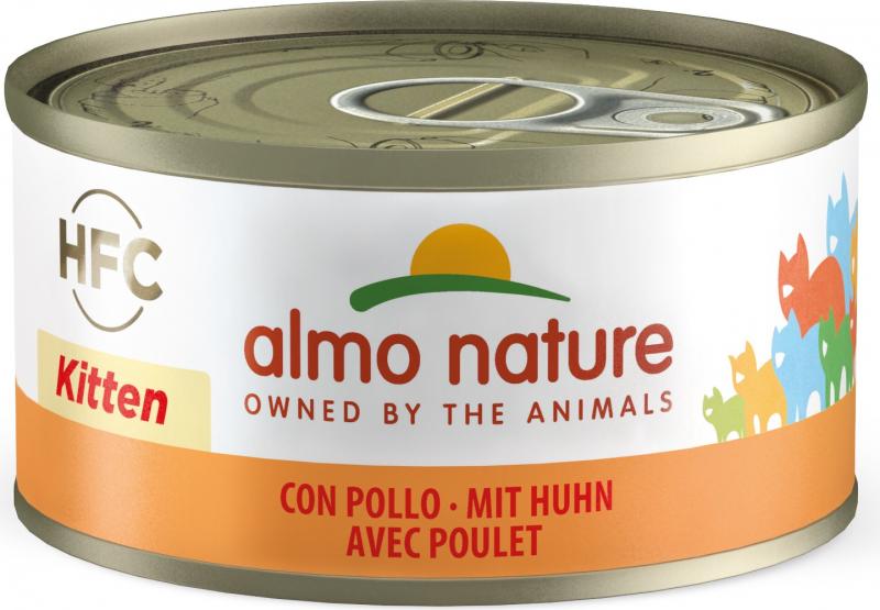 Paté Almo Nature Classic para gatitos - Sabor a pollo