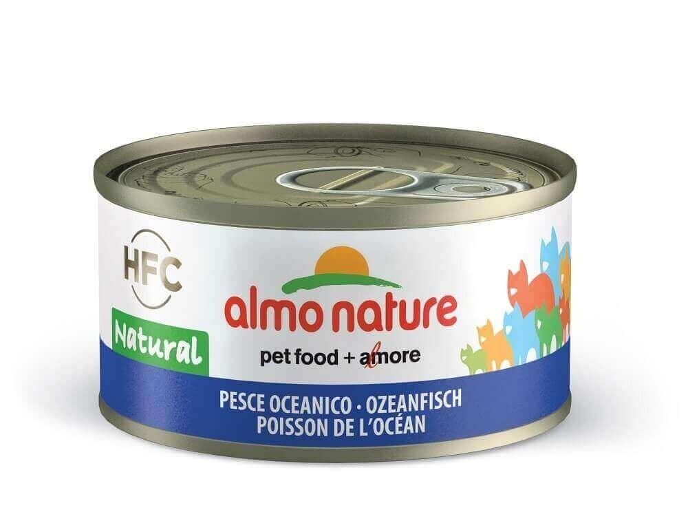Pâtée Almo HFC Natural pour chat - Saveurs côté mer_0