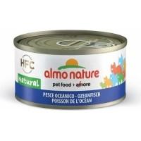 Pâtée ALMO NATURE HFC Natural ou Jelly 70g pour Chat adulte - 13 saveurs de POISSON au choix