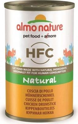 Pâtée ALMO NATURE HFC 140g à la Viande pour Chat Adulte & Chaton - 5 saveurs au Choix