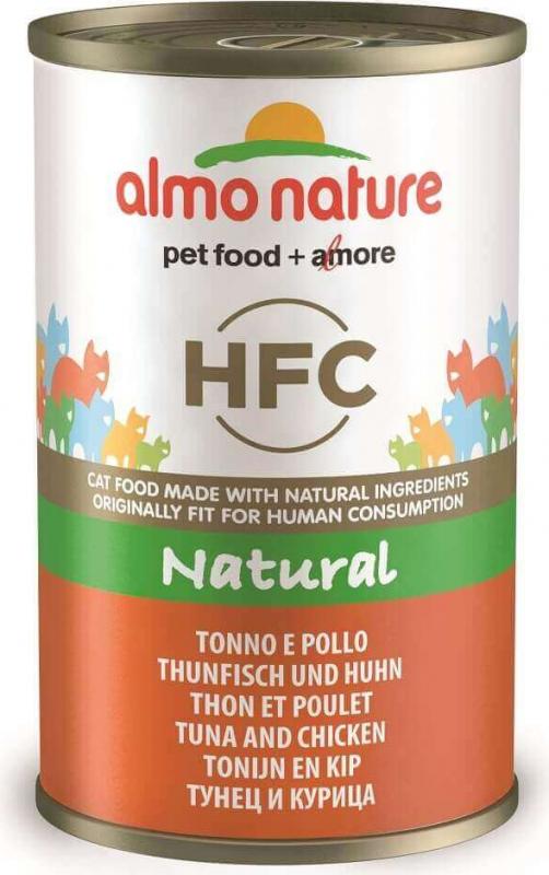 Pâtée ALMO NATURE HFC 140g au Poisson pour Chat Adulte - 6 saveurs au Choix