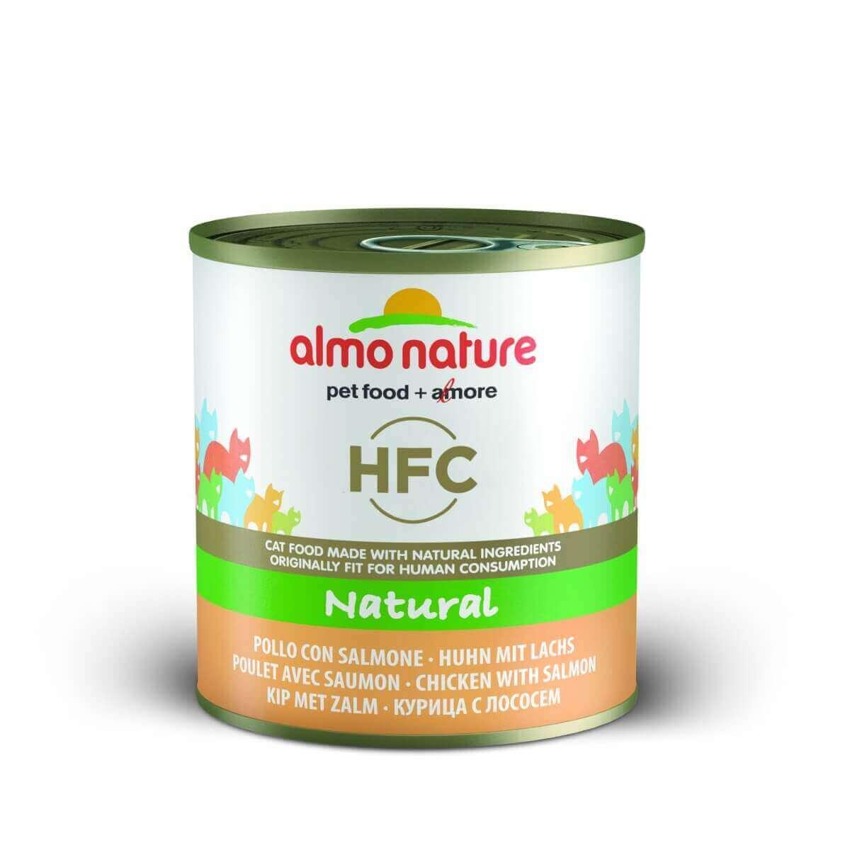 Pâtée Almo Nature HFC Natural pour chat 280g_4