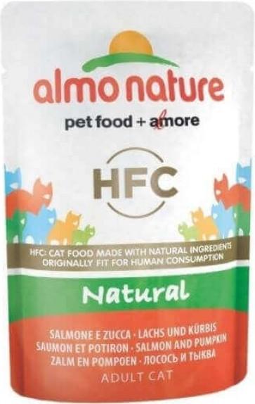 Pâtée ALMO NATURE HFC Classic 55g pour Chat Adulte - 6 saveurs au choix