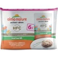 Pack de 6 Pâtées ALMO NATURE HFC Classic pour Chat Adulte - 3 saveurs au choix