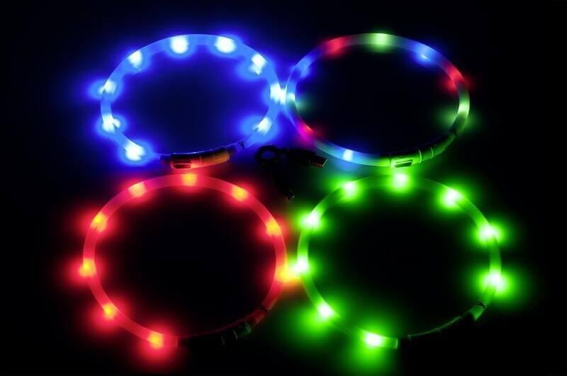 Collier anneau de lumière LED Visio Light - plusieurs coloris disponibles