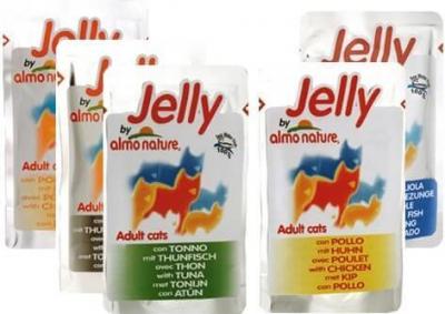 Gelée Almo Nature pour chat - Différentes saveurs