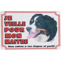 Panneau chien Berger Bernois
