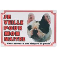 Panneau chien Bulldog Français