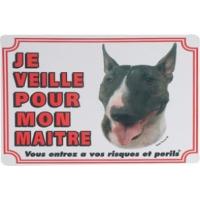 Panneau chien Bull Terrier
