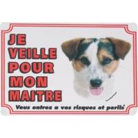 Panneau chien Jack Russel poil ras