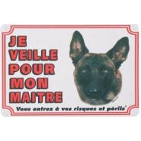 Panneau chien Malinois