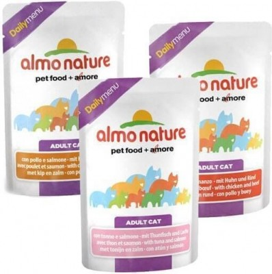 Pochon Almo Nature Daily Menu pour chat 70g