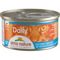 Pâtée ALMO NATURE PFC Daily Menu 85g en Bouchée ou en Mousse pour Chat Adulte