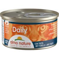 Paté ALMO NATURE PFC Daily Menú 85g en Bocaditos o en Mousse para gato adulto