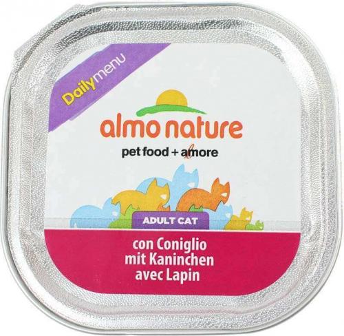 Paté Almo Nature menú diario para gato  - varios  sabores_4