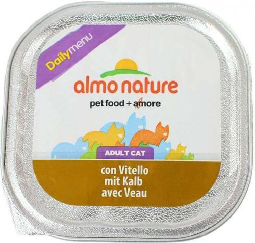 Paté Almo Nature menú diario para gato  - varios  sabores_3