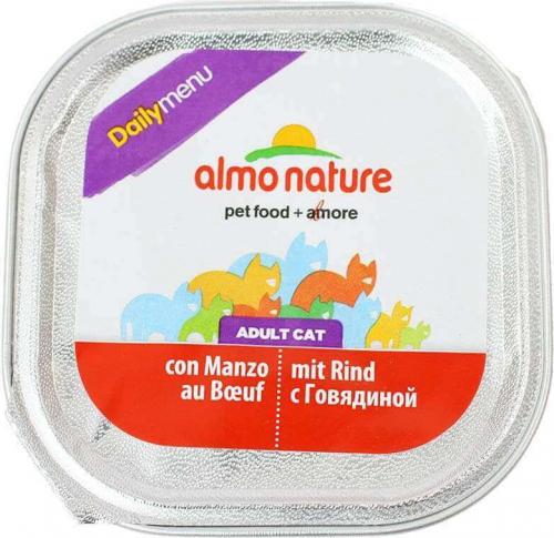 Paté Almo Nature menú diario para gato  - varios  sabores_6