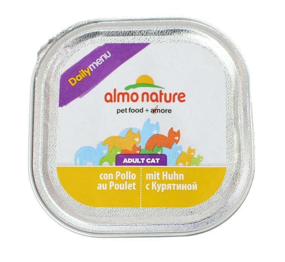 Barquette Almo Nature Daily Menu pour chat 100g_0