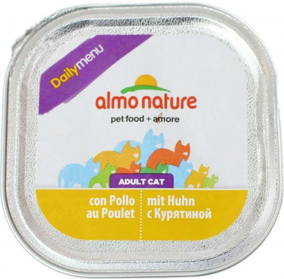 Barquette Almo Nature Daily Menu pour chat 100g