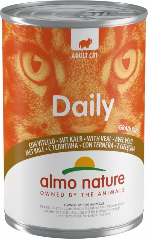 Pâtée ALMO NATURE PFC Daily Menu 400g pour Chat Adulte - 6 saveurs au choix