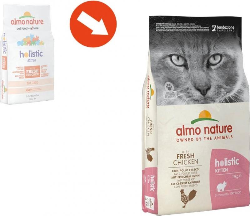 ALMO NATURE PFC Holistic Kitten au Poulet pour chaton