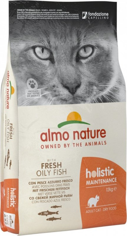 ALMO NATURE PFC Holistic au Poisson Blanc & Riz pour Chat Adulte